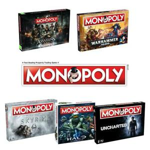 Monopoly-Video-Game-Editions-gt-Assasins-Creed-gt-Halo-gt-Skyrim-gt-Uncharted-amp-more