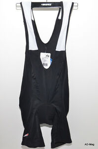 Vetement-velo-Short-Bib-Cuissard-JASON-JAT-Basic-Noir-Taille-L-XL-NEUF