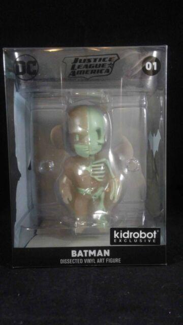MIGHTY JAXX XXRAY GID BATMAN VINYL ART FIGURE BY JASON FREENY KIDROBOT EXCLUSIVE