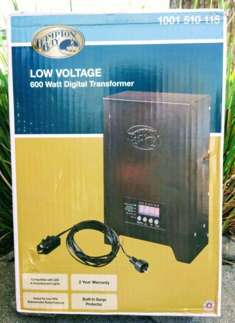 ghdonat.com Hampton Bay 600 Watt Low Voltage Transfoermer Patio ...