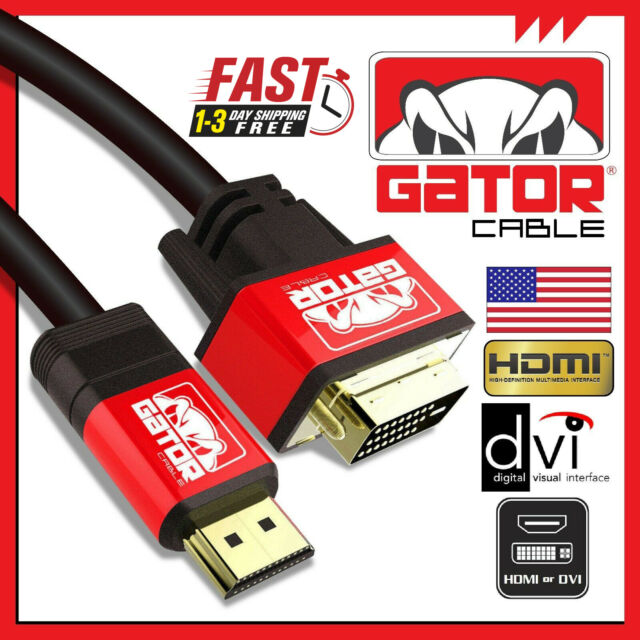 24+1 DVI-D M Male Gold Plated 1080P With A-technology DVI To VGA Cable 10Ft 3m