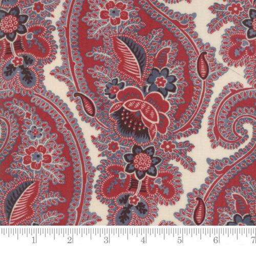 Moda Fabrics Pondicherry Paisley Pearl Per 1//4 Metre
