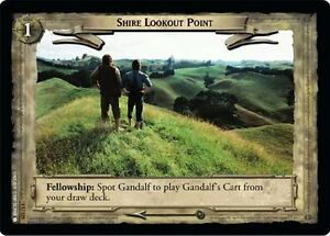 LoTR TCG FoTR Fellowship Of The Ring Shire Lookout Point FOIL 1U325