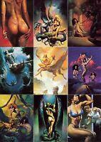 Boris 2 1992 Comic Images Complete Base Card Set Of 90