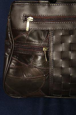 Damen Handtasche, Leder, Futter Feinsynthetik, mit Halstuch, neu, Top Design!!!