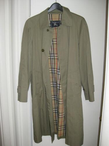 Vintage Burberry Overcoat
