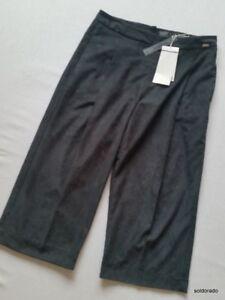 Nuovo Scuro Blu Uk10 Pantalone Kulotte Airfield 40 Gr Gonna CBIn8qtwxS