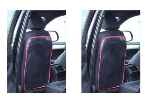5,45 EUR//Stück 2 X Rückenlehnenschutz Sitzschoner Autositzschoner Schutzfolie