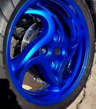 Gloss Transparent Candy Ultrmarine Blue Powder Coating Paint 1lb045kg