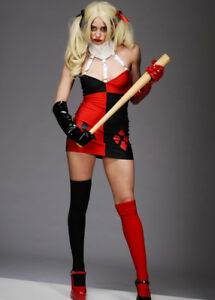 Ladies sexy harley quinn costume ebay image is loading ladies sexy harley quinn costume solutioingenieria Image collections
