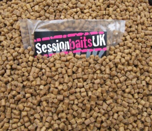Pacific Tuna Flavoured Bandable Hard Hook Bait Pellets 6mm 80g Course Carp Match