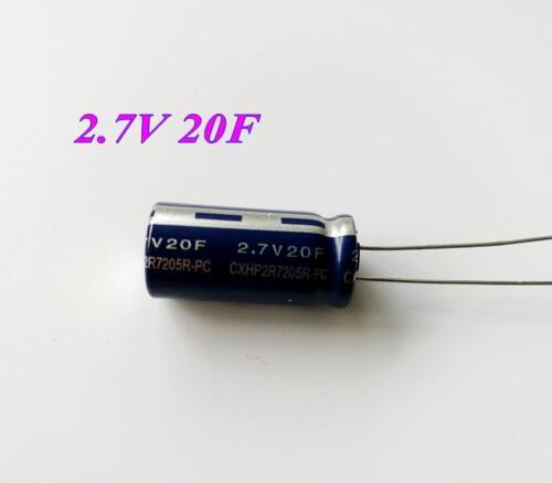1pcs 2.7V 20F Farad Capacitor Supercapacitor 20F 2.7V 12.5*26MM