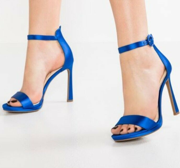 Jessica Simpson PLEMY - High Heeled Sandals Blue Iris Size EU 40