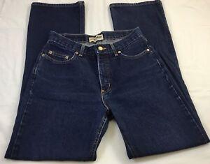 London-Jean-Women-039-s-Bootcut-Blue-Jeans-Size-10