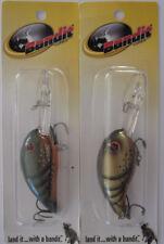 Bandit 200 Pre Pradco 2B33 Baby Bream Bass Fishing Crankbait TOUGH
