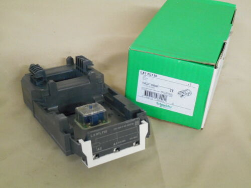 NIB SCHNEIDER ELECTRIC LX1FL110 coil 120VAC