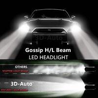 Led Headlight Conversion Kit H4 H7 H11 H13 9005-9006 20w 6500k White Light Pair