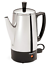 Electric-Coffee-Percolator-Vintage-Maker-Pot-Stainless-Steel-6-Cup-Portable-New thumbnail 5