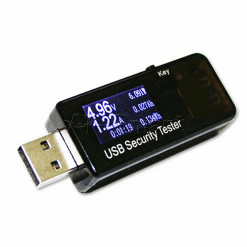 OLED//LCD USB 3.0 Charger Voltage Meter Current Tester Battery Capacity Detector