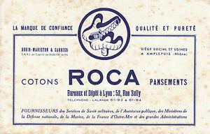 Buvard-Vintage-Cotons-ROCA-Pansements