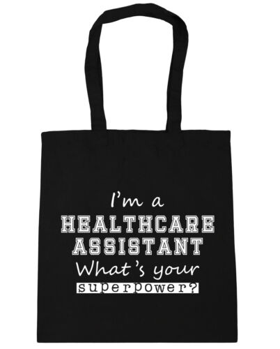 I/'m A Healthcare Assistant What/'s Your Superpower Tote Shopping Gym Beach Bag 4