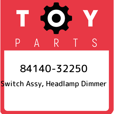 8414032250 Genuine Toyota SWITCH ASSY HEADLAMP DIMMER 84140-32250