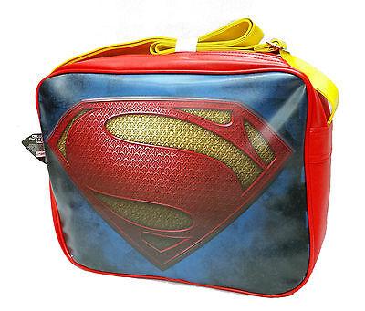Fornitura Superman Dc Comics Supereroe Volo Tracolla Messenger Scuola Borsa-mostra Il Titolo Originale Materiali Accuratamente Selezionati