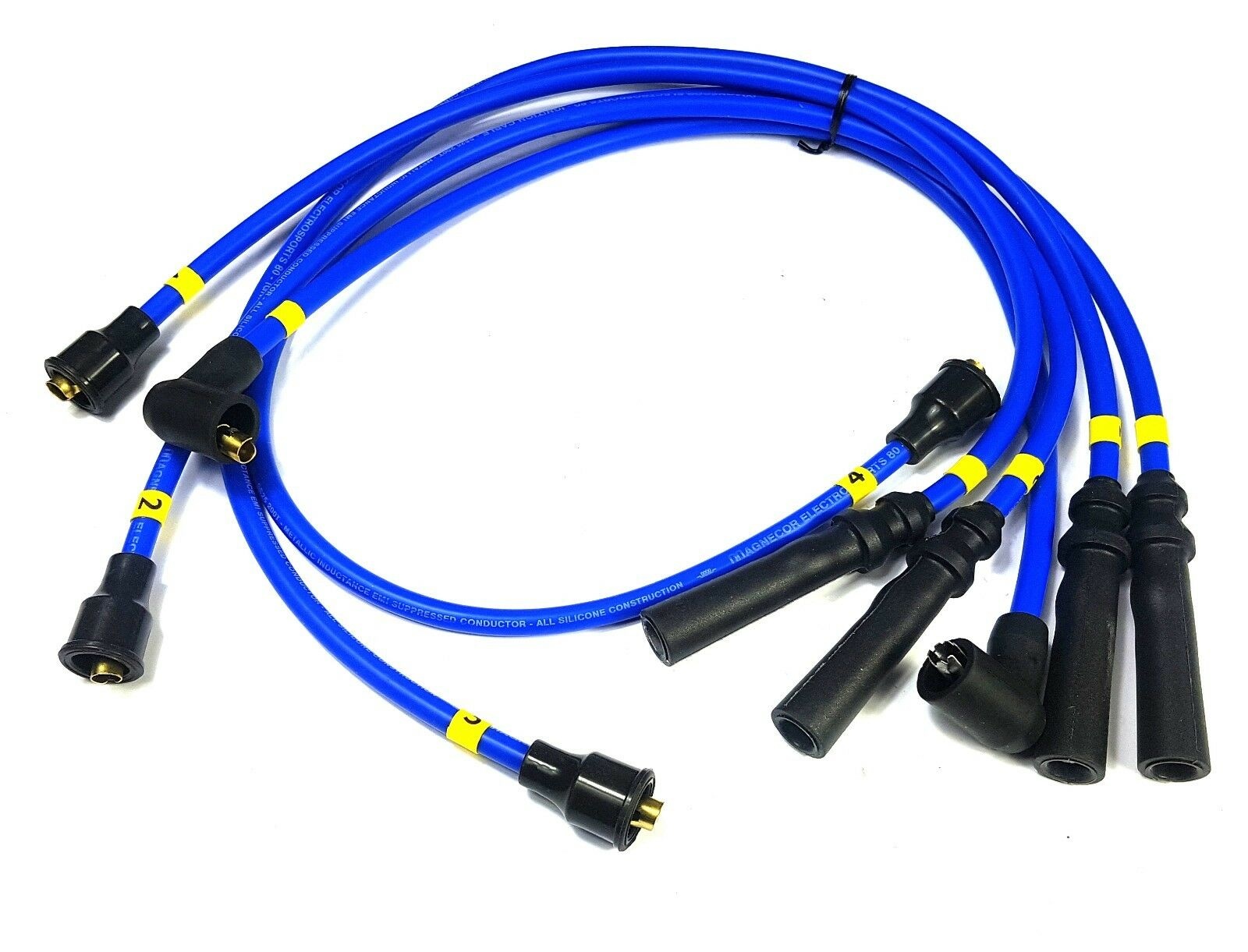 FORD SIERRA 1.6 Pinto Accuspark 8mm Silicone HT leads