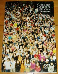 Regensburg-2000-01-alter-Jahresbericht-Albrecht-Altdorfer-Gymnasium-Geschenk-Abi