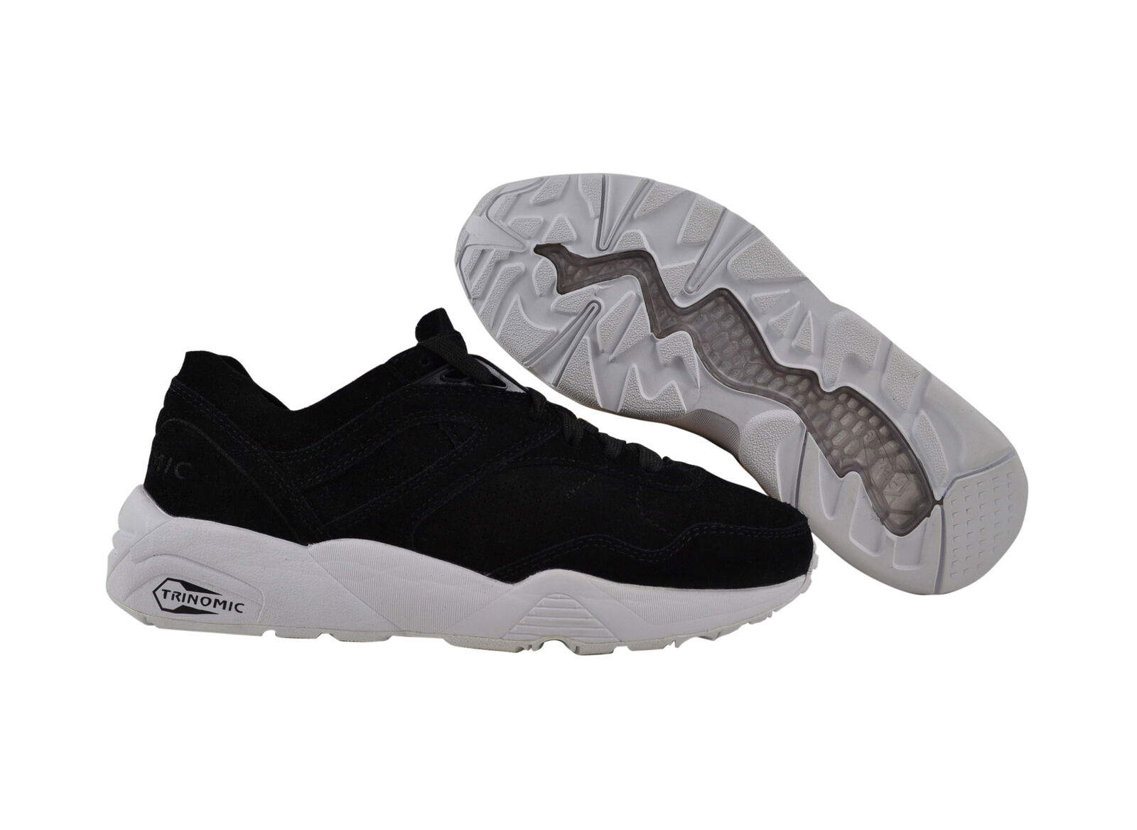Puma R698 SOFT black/puma silver/white Sneaker/Schuhe schwarz
