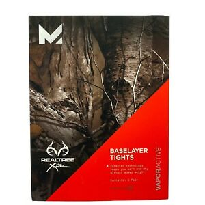 Mission-Active-Men-s-Realtree-Xtra-Baselayer-Tights-Vapor-Active-Size-XXL-New