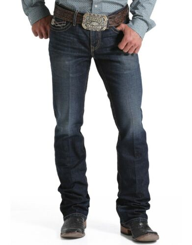 Style #MB62836001 Cinch Men/'s Ian Slim Fit Boot Cut Mid-Rise Jeans ~ ALL SIZES