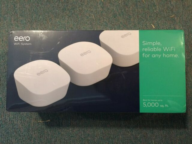 Amazon Eero Mesh wifi system 3-Pack
