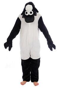 Animal Black Sheep Onesiee Kigurumi Fancy Dress Costume Hoody Pajamas Sleep wear