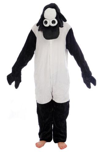 Animale Pecora Nera Onesiee Kigurumi Costume Felpa con Cappuccio Pigiama