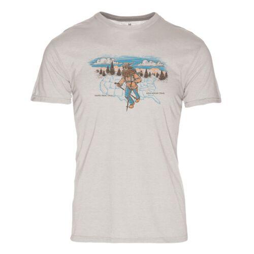 Hiker Men/'s Eco Friendly Short Sleeve T-Shirt