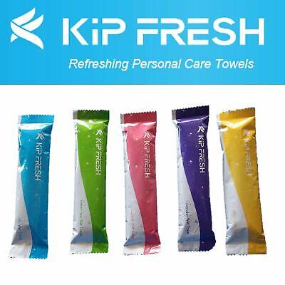 Lemon Scented Pre-moistened Towel by KIPFresh Washcloths 50 Towels