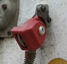 Glad Lock Gladhand Lock For Tractor Trailer Gland Hands 035150 2 Key Set