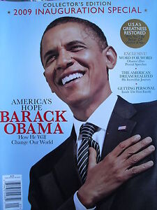 BARACK-OBAMA-2009-INAUGURATION-SPECIAL-COLLECTOR-039-S-EDITION-Sealed-Mint