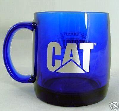 NEW CAT BLUE COFFEE CUP MUG