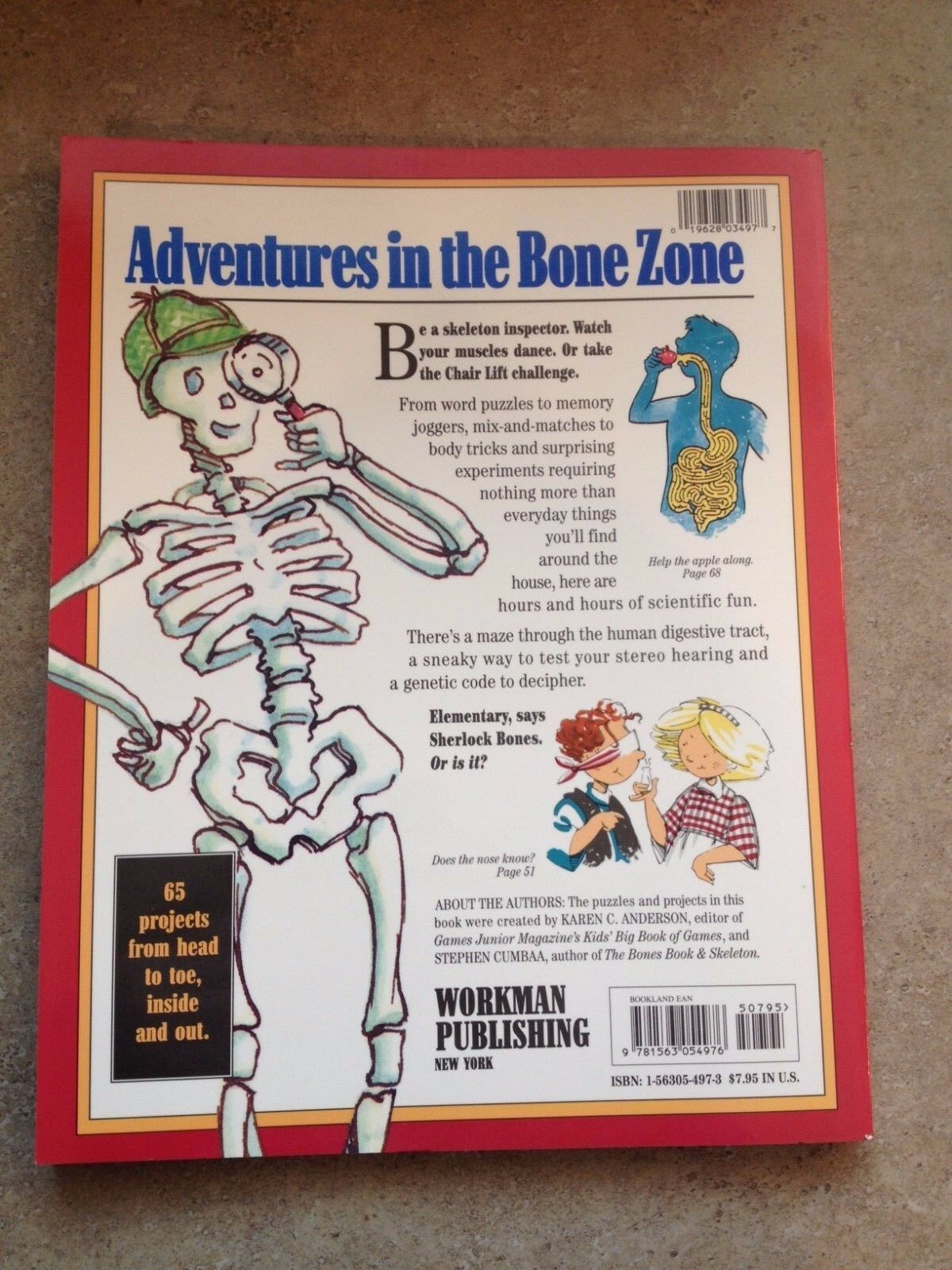 The Bones and Skeleton Gamebook by Stephen Cumbaa  Karen C ... 65a4708ed86