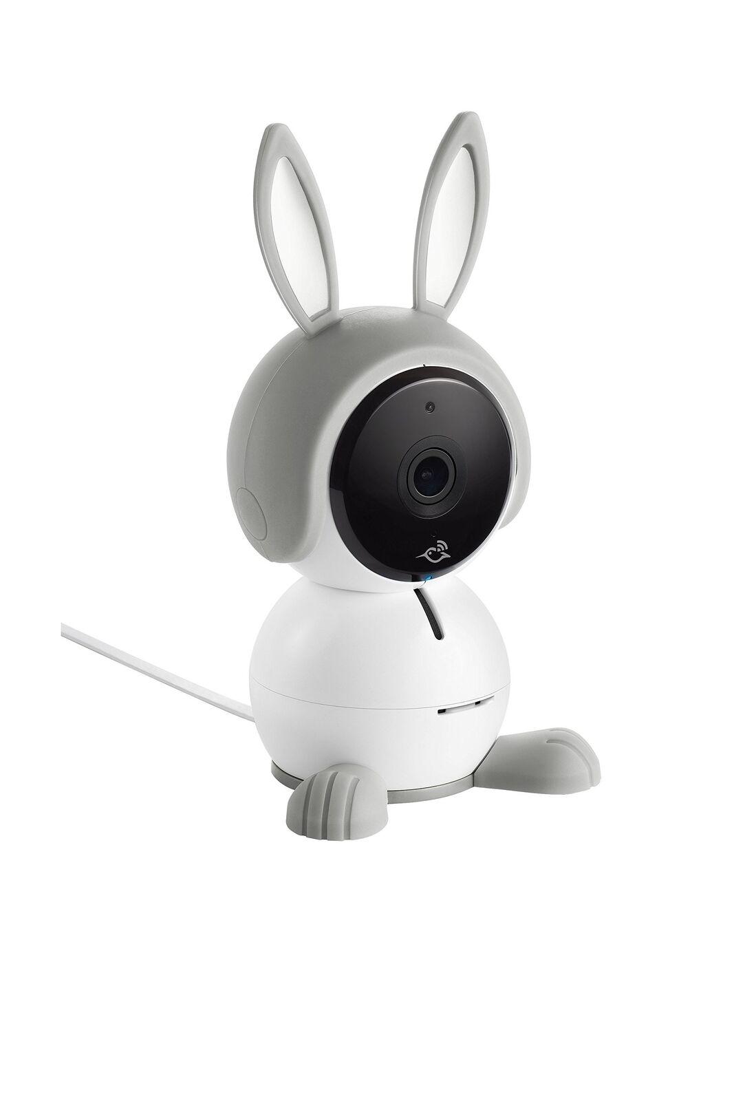 Arlo Baby Monitor Smart WIFI Camera 1080P HD w  2 Way Audio grigio Bunny Ears New