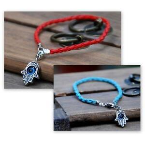 Image Is Loading Kabbalah Red Or Blue String Bracelet Good Luck