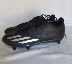 Adidas Adizero Afterburner 3 Xenon Baseball Cleats Black Silver SZ ( B42903 )