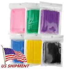 100500pc Dental Micro Brush Disposable Eyelash Medium Tooth Applicators