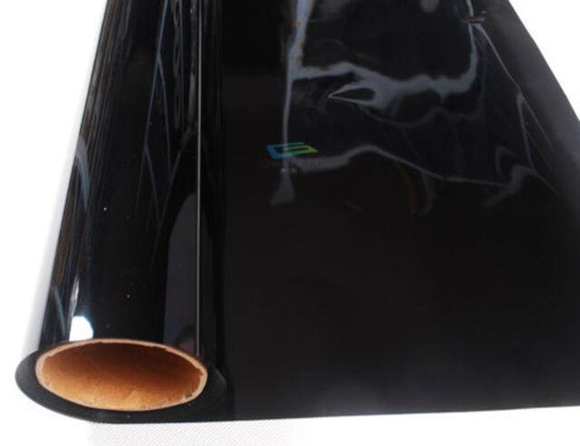 "20""*0.5m Privacy Protecy Mirror Film Reflective Black 20% Window Tint BH6 JY"
