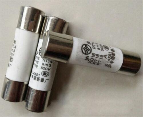 20Pcs 25 A 500 V 14x51mm R016 pour RT18 RT14 Nouveau Céramique Fusible