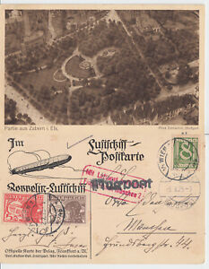 Consciencieux Aéronef Carte Postale De Vienne Après Munich 3.10.1925 - Lot De Zabern I. Els.-afficher Le Titre D'origine