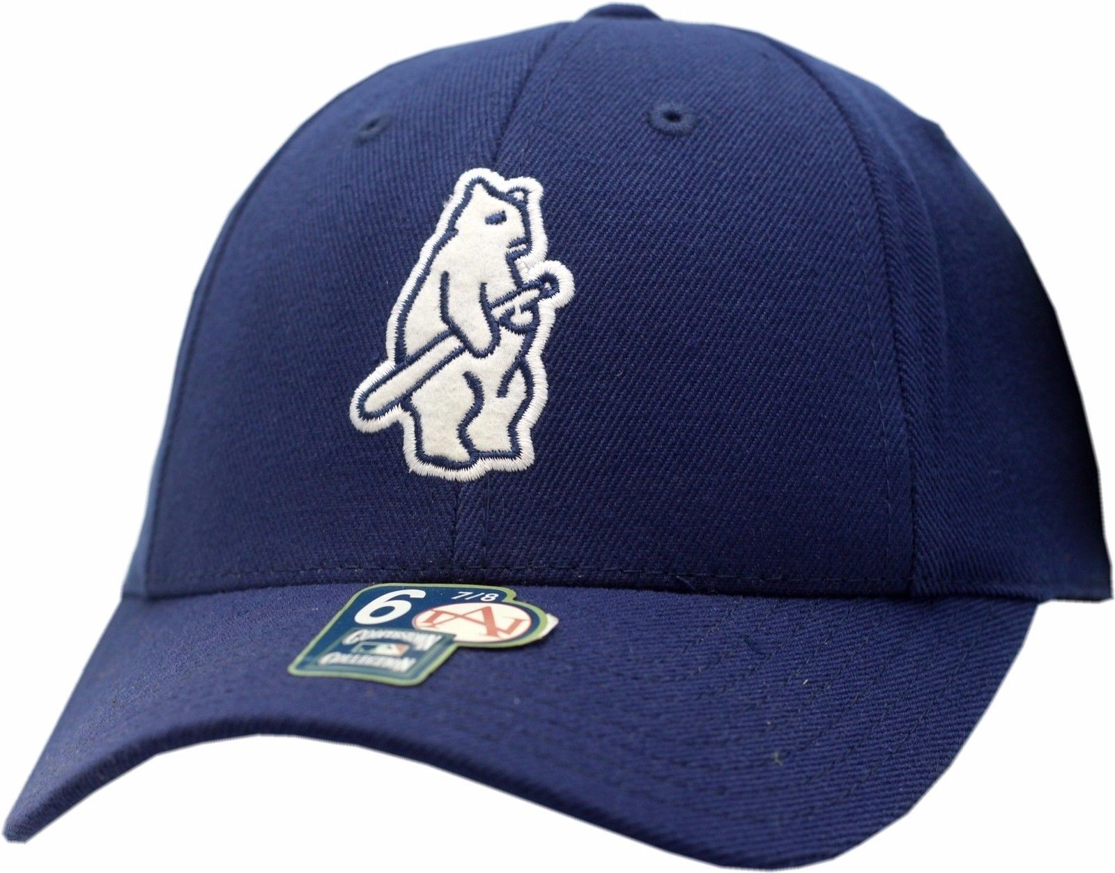 Chicago Cubs Logo Fitted Hat 1914 Bear Logo Cubs Cooperstown Collection 12128 4e4611