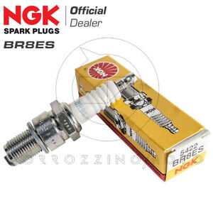 CANDELA ACCENSIONE NGK IRIDIO BR8EIX COMPATIBILE CON Honda FES 150 Pantheon 2T 1998  2002
